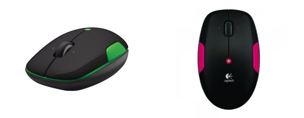 logitech m345 LOGITECH Wireless Mouse M345 (Fire Red, Lime) für €16,99