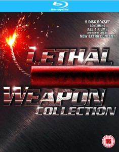 lw14 235x300 Blu Ray Box Lethal Weapon 1 4 (5 Discs) für €14,89
