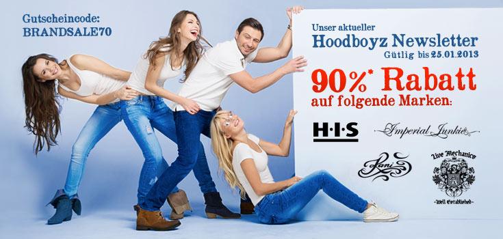 sb img 542 Hoodboyz: 90% Rabatt auf H.I.S, Imperial Junkie, Live Mechanics und Kani Ladies Artikel