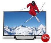 LG 55LM620S 140 cm (55 Zoll) Cinema 3D LED-Backlight-Fernseher, Energieeffizienzklasse A+ (Full-HD, 400Hz MCI, DVB-T/C/S2, Smart TV, HbbTV) schwarz