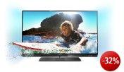 Philips 47PFL6007K/12 119 cm (47 Zoll) Ambilight 3D LED-Backlight-Fernseher, Energieeffizienzklasse A+  (Full-HD, 400 Hz PMR, DVB-T/C/S2, CI+, WiFi, Smart TV) schwarz