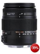 Sigma 18-250 mm F3,5-6,3 DC Macro OS HSM Objektiv (62 mm Filtergewinde) für Canon Objektivbajonett