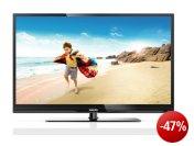 Philips 46PFL3807K/02 117 cm (46 Zoll) LED-Backlight-Fernseher, Energieeffizienzklasse A+ (Full-HD, 100Hz PMR, DVB-C/-T/-S, CI+, Smart TV) schwarz