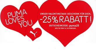 image114 Puma.de: 25% Rabatt auf alle nichtreduzierten Artikel