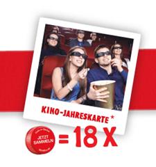 image222 18 x Sinalco Code gegen 2für1 Kino Jahreskarte eintauschen