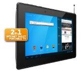 Odys Motion 17,8 cm (7 Zoll) Tablet-PC (1,2GHz Prozessor, 1GB RAM, 8GB HDD, DVB-T, GPS, HDMI, WLAN, SD, USB, Android OS 4.0.x) schwarz