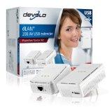 Devolo dLAN 200 AV USB extender Starter Kit (Netzwerk aus der Steckdose)