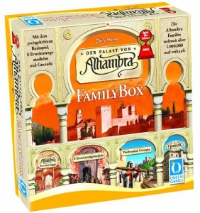 alhambra family 282x300 Queen Games Alhambra (Family Box) für €22,49