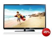Philips 42PFL3507K/02 107 cm (42 Zoll) LED-Backlight-Fernseher, Energieeffizienzklasse A (Full-HD, 100Hz PMR, DVB-C/T/S, CI+, Smart TV) schwarz