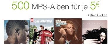 image1 Amazon Download: 500 MP3 Alben für je 5€