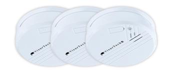image111 PEARL Photoelektrischer Rauchmelder (3er Set) für 14,99€