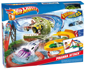 piranha attack 300x242 Hot Wheels Spielset Colour Shifters Piranha Attack für €19,99