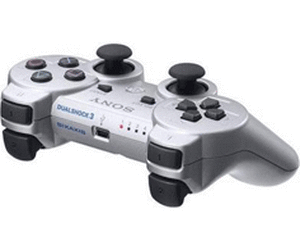 Sony DualShock 3 Controller Silber