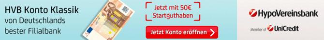 image162 Hypovereinsbank: kostenloses Girokonto mit 50€ Startguthaben