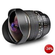 Walimex Pro Fish-Eye Objektiv 8 mm 1:3,5 für Canon EF-S Objektivbajonett