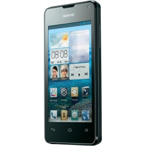 "huawei y300 300x300 Huawei Smartphone ""Ascend Y300"" (4 Zoll 480x800, 2x1Ghz., 4GB/512MB, Android 4.1, 5MP Cam AF/LED) für 88,28€"