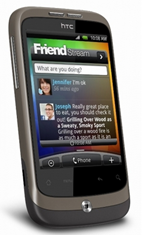 image166 HTC Wildfire Smartphone (5MP Kamera, Touchscreen, Facebook, Twitter, Android 2.1) für 69,90€