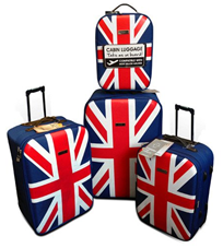 image210 Trolley 4er Set im Union Jack Design für 69,99€