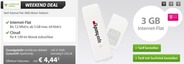 image398 3GB Telekom Datenflat für 4,44€/Monat (oder 5GB für 6,66€/Monat)