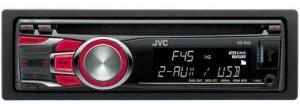 jvc autoradio 300x104 JVC MP3 CD Autoradio KD R45E (RDS Tuner, USB, 4x50 Watt) für €39,98