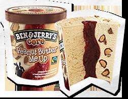 Peanut Butter Me Up icecream