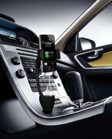 51v32vbshml. sx385  Technaxx TE06 Universal Autohalterung mit Ladegerät für iPhone, Samsung, HTC für 16,99€