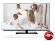 Toshiba 46TL938G 116,8 cm (46 Zoll) 3D LED-Backlight-Fernseher, EEK A+ (Full-HD, 200Hz AMR, DVB-T/C, CI+, DLNA, Web-TV) silber