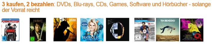 image36 [Letzte Chance] 3 kaufen, 2 bezahlen: DVDs, Blu rays, Games, Musik usw.   so z.B. Breaking Bad 1 4 für je ~ 8,66€