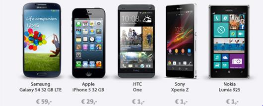 image thumb43 Vodafone Red M (Allnet Flat, Internetflat 1GB/Monat, SMS Flat, 2 Wochen EU Internetflat) für 39,99€/Monat plus Top Smartphone ab 1€