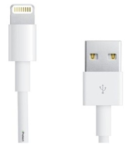 iprotect ios6 279x300 iProtect Premium USB Lightning Datenkabel / Ladekabel / Connector (iPhone 5, iPad Mini, iPad 4, iPod 5, usw.) für €0,91