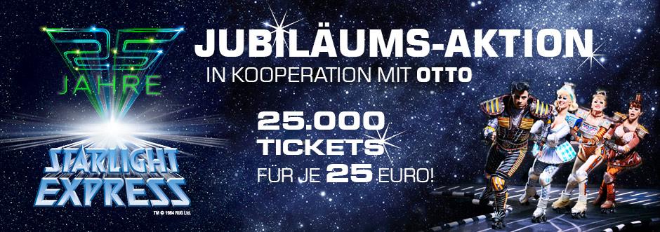 stex otto themenpage entwurf 11 [Ab Uhr] 25.000 Starlight Express Tickets für je 25€