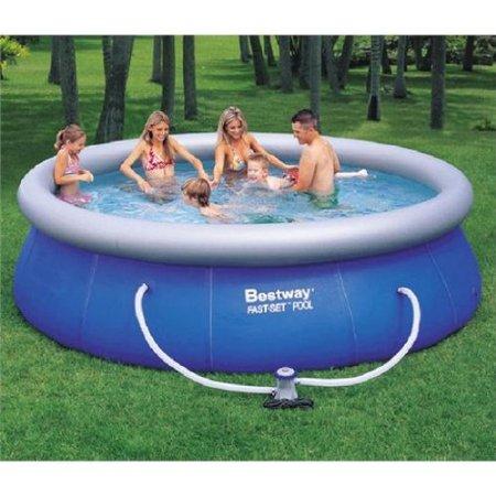 bestway 57166gs fast pool set mit filterpumpe 366 x 91 cm f r 69. Black Bedroom Furniture Sets. Home Design Ideas