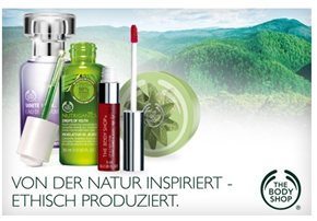 image385 Groupon: 35€ The Body Shop Gutschein für 17,50€
