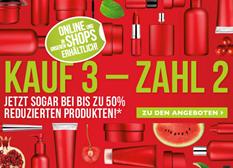 image4 The Body Shop: 3 Artikel kaufen, 2 zahlen + Sale mit bis zu 50% Rabatt + 5€ Gutschein (oder ab 25€ ganze 20% Rabatt) – so z.B. 3 Produkte für 6 anstatt 26€ inkl. Versand