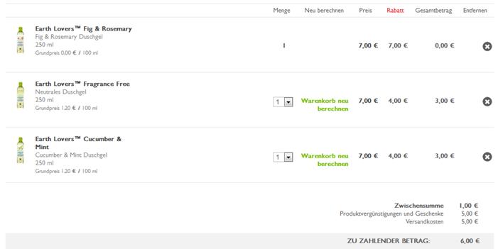 image thumb1 The Body Shop: 3 Artikel kaufen, 2 zahlen + Sale mit bis zu 50% Rabatt + 5€ Gutschein (oder ab 25€ ganze 20% Rabatt) – so z.B. 3 Produkte für 6 anstatt 26€ inkl. Versand