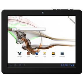 middleloox plus schwarz  bild 4 Odys Loox 17,8 cm (7 Zoll) Tablet PC (Touchscreen, 1.2 GHz, 512 MB RAM, 4 GB Flash Speicher, WLAN, MicroSD Slot, Android 4.0) für 52,89€