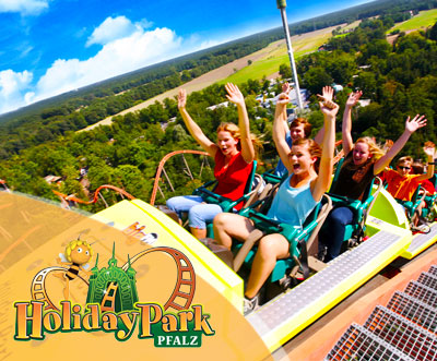 dailydeal gutschein holiday park tageseintritt jj Tages Eintrittskarte für den Holiday Park Pfalz für 14 Euro