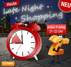 image211 Plus.de Late Night Shopping: 15% Rabatt zwischen 21 23 Uhr auf alle Fahrräder