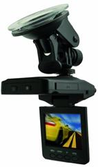image26 Praktica CDV 1.0 Auto Videokamera (1 Megapixel , 6,1 cm (2,5 Zoll) TFT Farbmonitor) mit KFZ Adapter für 50€