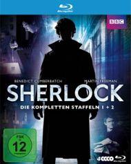 Sherlock-Staffel1 Und 2 (Boxse - Cumberbatch,Benedict/Freeman,Martin