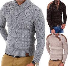 Tazzio Strickpullover, Grobstrick Pullover, versch. Modelle, Gr. S-XXL, NEU WOW