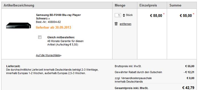 image thumb87 12,21€ Conrad.de Gutschein   ab 35€ einlösbar + keine Versandkosten