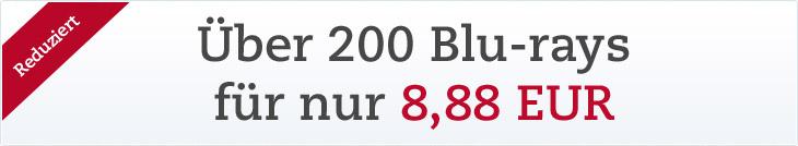 Blu-rays für 8,88 EUR