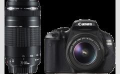CANON EOS 600D+18-55III+75-300III