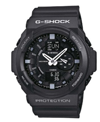 image172 Casio Herren Armbanduhr XL G SHOCK Analog   Digital Resin GA 150 1AER für 59,56€