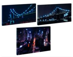 image338 LED Wandbilder (3 Motive) für 9,99€ inklusive Versand