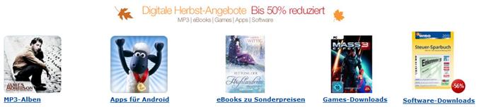 """image378 Amazon: digitale Herbst Angebote – """"bis zu 50% reduziert"""""""