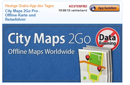 image464 Amazon Android App Store: City Maps 2Go heute gratis, StarMoney für 99 Cent, Navigon Central Europe für 22,95€ + Sparkassen App gratis