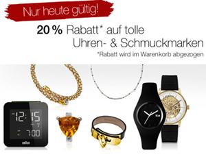 image163 Galeria Kaufhof: 20% Rabatt auf bestimmte Uhren  und Schmuckartikel + 10% Newsletterrabatt