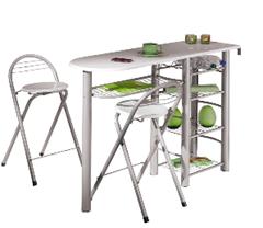 image319 Küchenbar FRIDA inkl. 2 Barstühle für 59,99€
